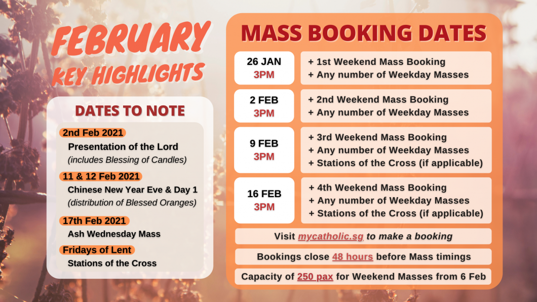 FEB Mass Booking
