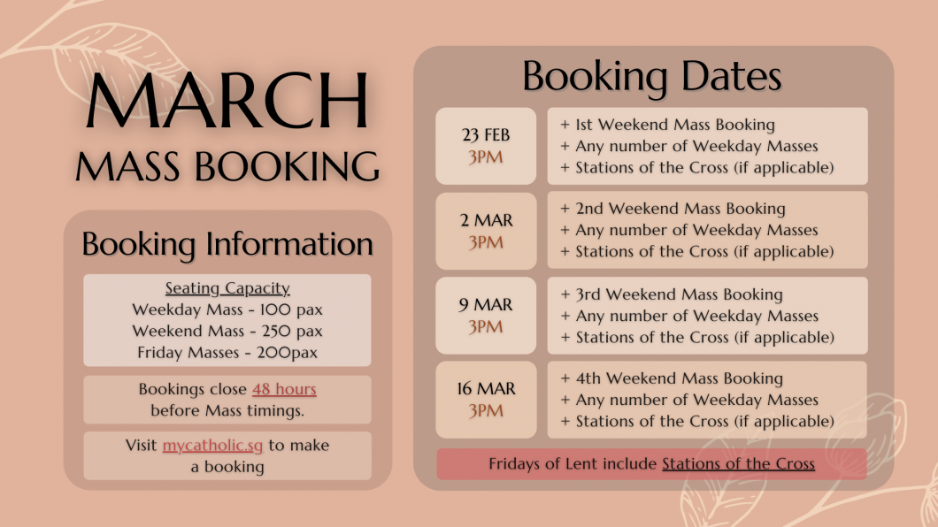 MAR Mass Booking
