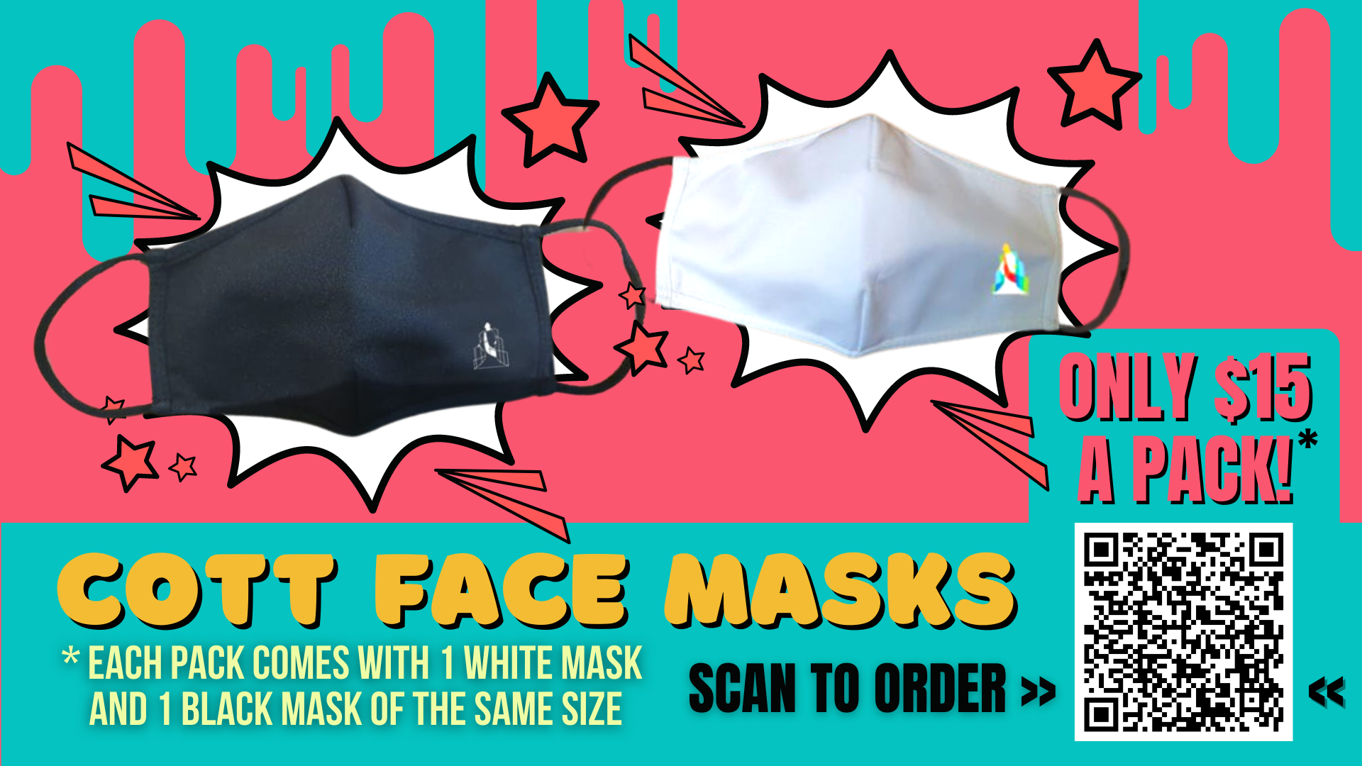 COTT Face Masks
