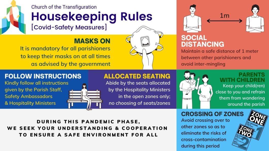 Housekeeping Rules