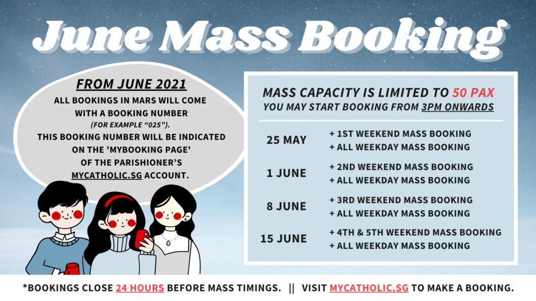 JUNE Mass Booking