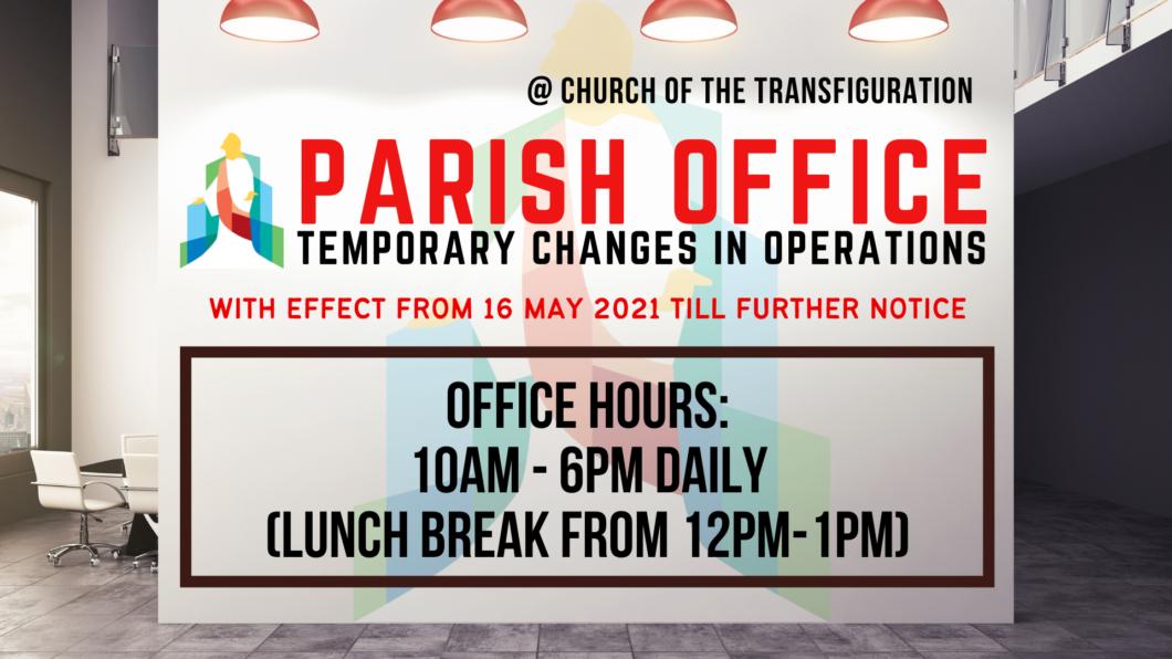 Parish Office Ops