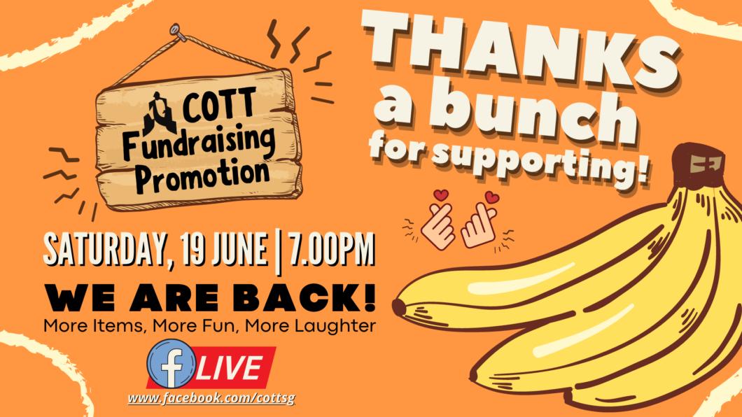 COTT Ops Fundraising (19 June)