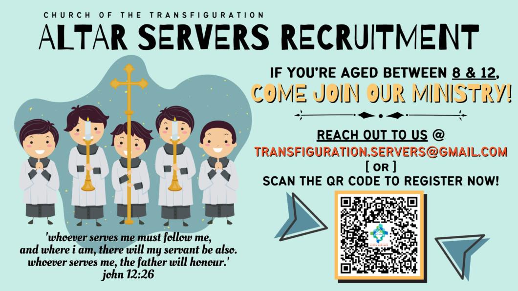 Servers Recruitment