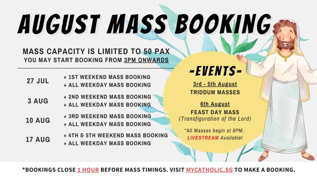 AUG Mass Booking