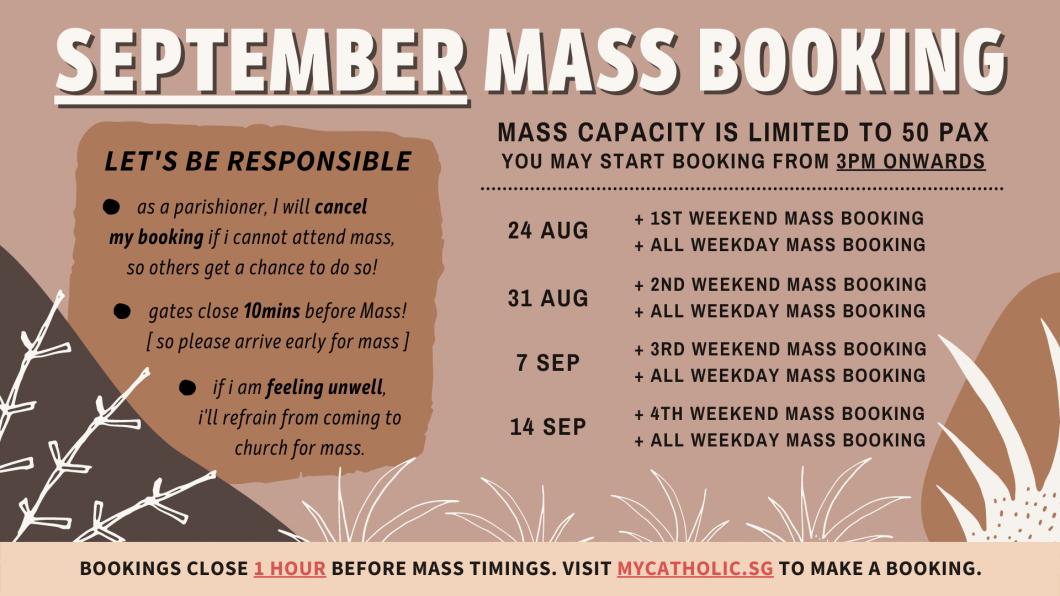 SEPT Mass Booking