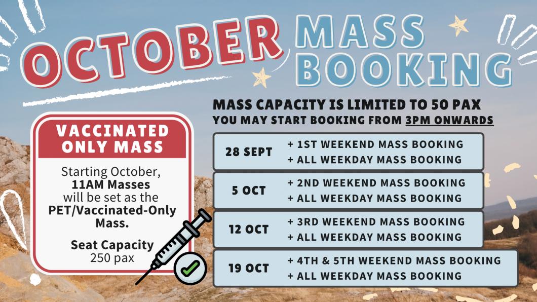 OCT Mass Booking